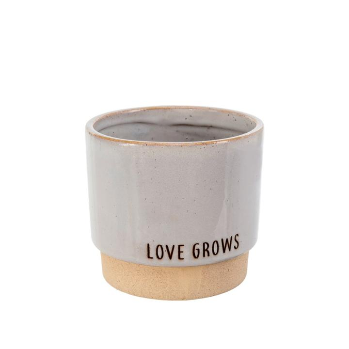 Indaba Ceramic Pot - Love Grows