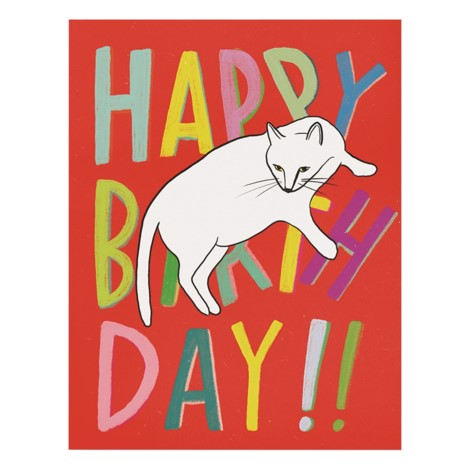 Emily McDowell - Greeting Card - Happy Birthday - Cat