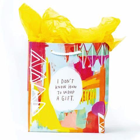Emily McDowell - Tote - Medium - Don't Know How To Wrap