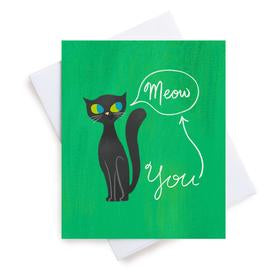 Meaghan Smith Greeting Card - The Cat's Meow