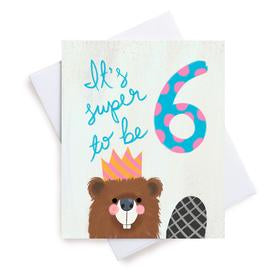 Meaghan Smith Greeting Card - It's Super To Be 6