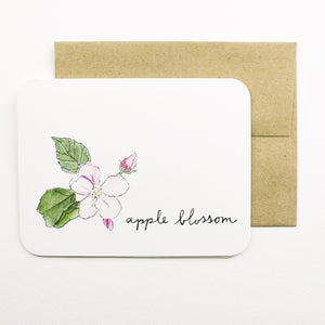 Field Day Paper - Greeting Card - Apple Blossom