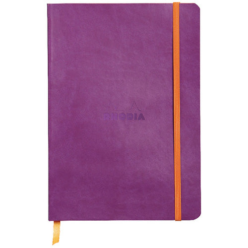 Rhodia - Notebook - Soft Cover - A5 - Purple