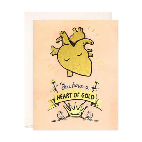 JooJoo Paper - Greeting Card - You Have A Heart Of Gold