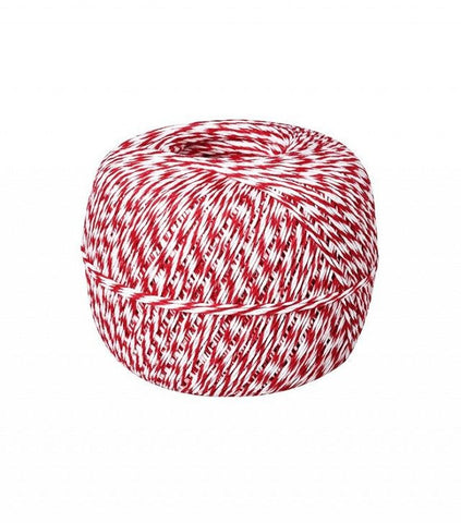 Waste Not Paper - Bakers Twine - Red + White