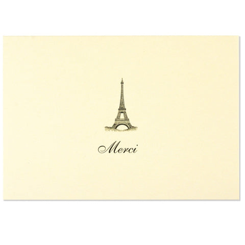 Peter Pauper - Boxed Notes - Thank You - Merci - Eiffel Tower