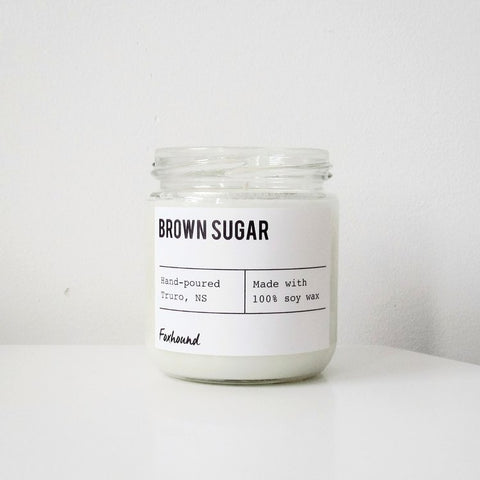 Foxhound Collection - Candle - Brown Sugar