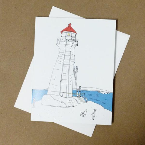 Emma Fitzgerald - Greeting Card - Peggy's Cove