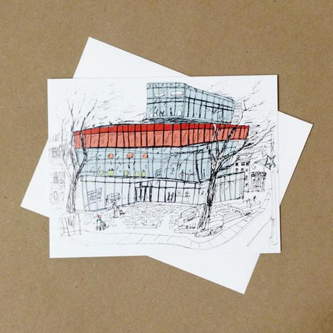Emma Fitzgerald - Greeting Card - Halifax Central Library