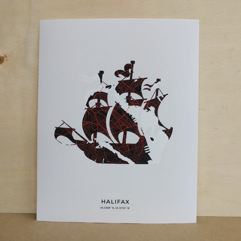 Saltwreck - Art Print - Tall Ship
