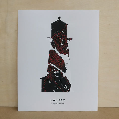 Saltwreck - Art Print - Lighthouse
