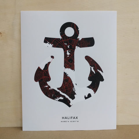 Saltwreck - Art Print - Anchor