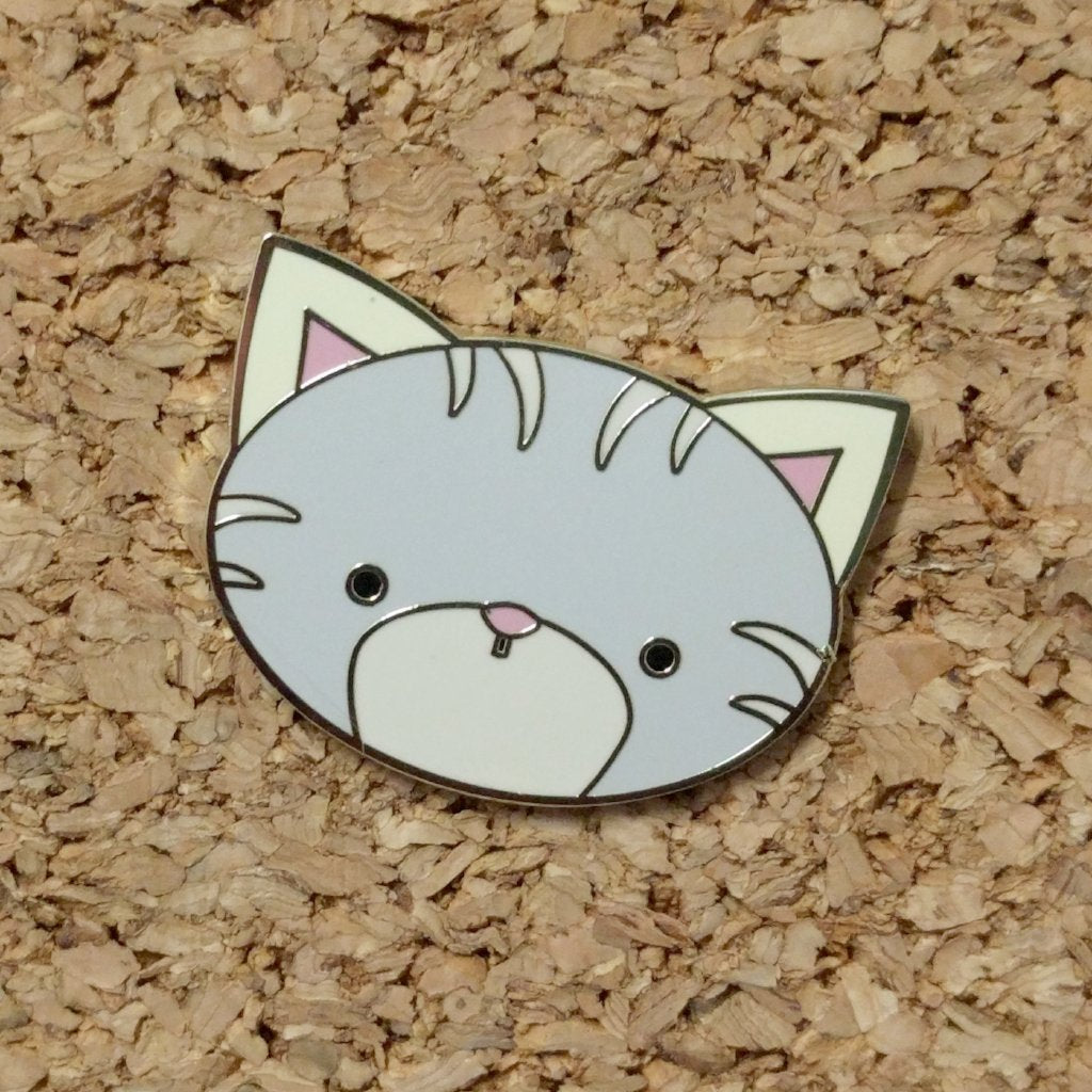 Paper Hearts - Enamel Pin - Purrr-fect Little Kitty