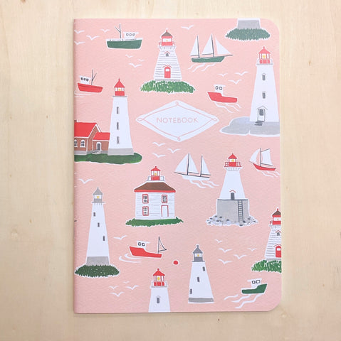 Kat Frick Miller - Notebook - Lighthouses