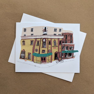Emma Fitzgerald - Greeting Card - Founders Corner - Two If By Sea