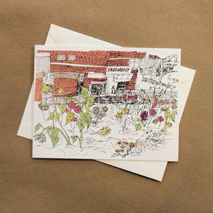Emma Fitzgerald - Greeting Card - Emergency - Community Garden