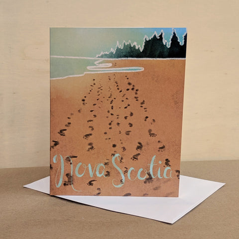 Meaghan Smith Creative - Greeting Card - Nova Scotia Shoreline
