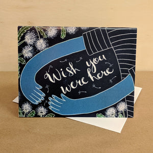 Meaghan Smith Creative - Greeting Card - Wish You Were Here