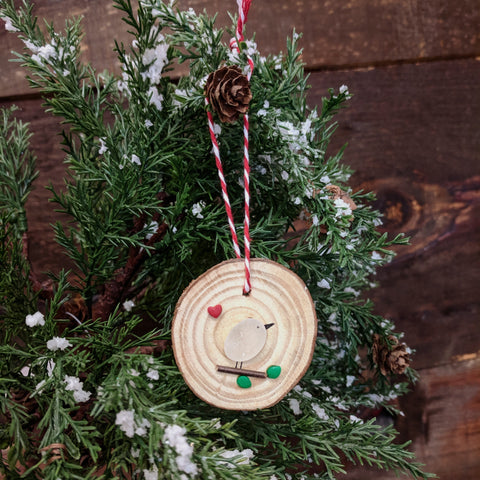 Apricity Designs - Ornament - Little Bird