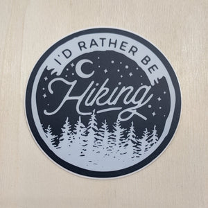Sticker - I'd Rather Be Hiking