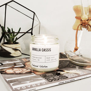 Foxhound Collection - Candle - Vanilla Cassis