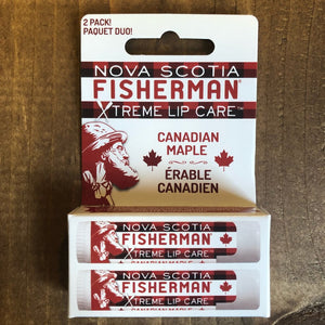 Nova Scotia Fisherman - Lip Care - Canadian Maple - Pack of Two