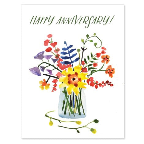 Halfpenny Postage - Greeting Card - Happy Anniversary