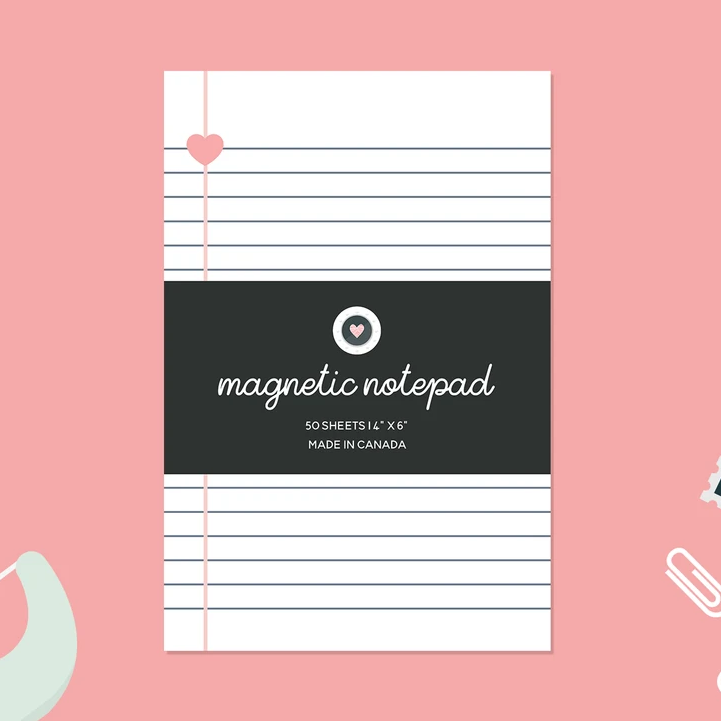 Paper Hearts - Notepad - Heart-Centered