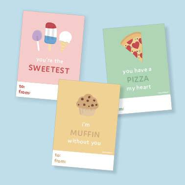 Classy Cards Love Notes - Foodie Collection