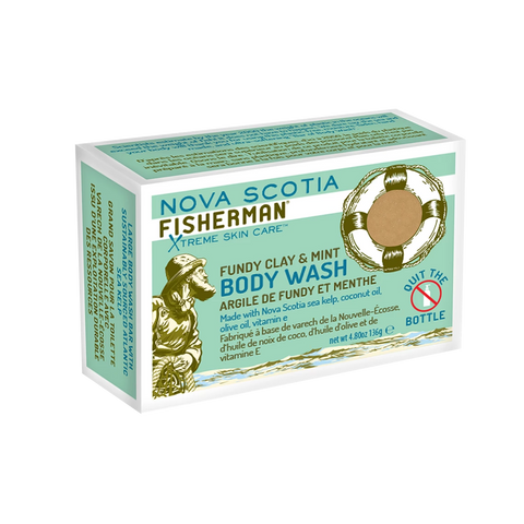 Nova Scotia Fisherman - Body Wash - Fundy Clay & Mint