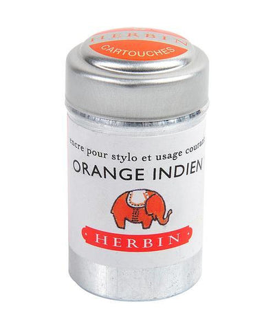J. Herbin - Ink Cartridges - Orange Indien