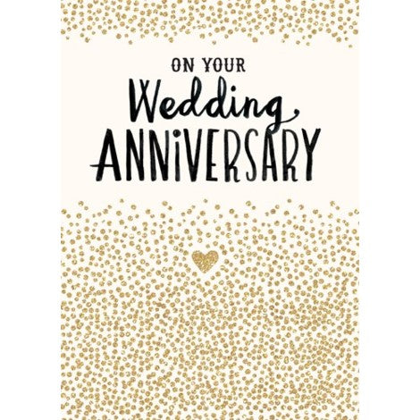 Bijou - Greeting Card - On Your Wedding Anniversary