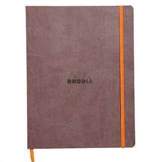 Rhodia - Notebook - Soft Cover - Large - Chocolate