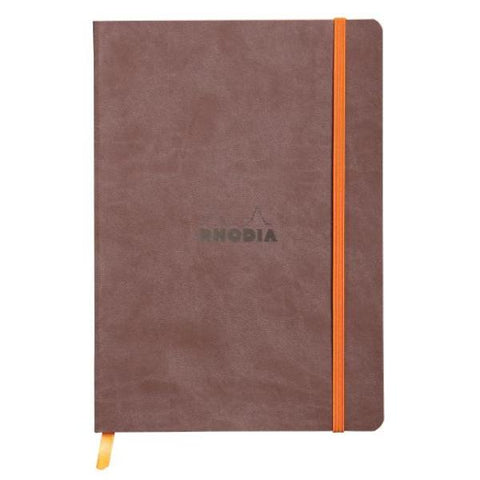 Rhodia - Notebook - Soft Cover - A5 - Chocolate