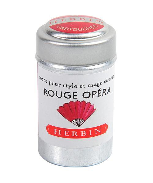 J. Herbin Ink Cartridges - Rouge Opera
