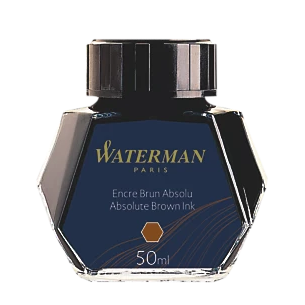 Waterman - Bottled Ink - Absolute Brown