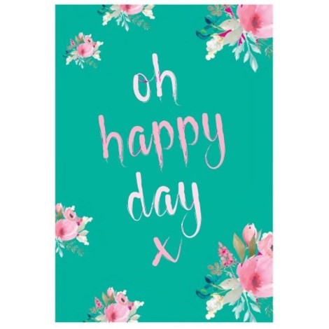 Stephanie Dyment - Greeting Card - Oh Happy Day