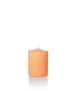Slim Pillar Candle - Peach