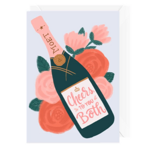 Hello Sweetie Design - Greeting Card - Cheers To You Both