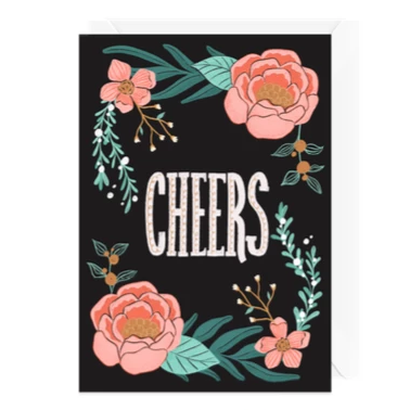 Hello Sweetie Design - Greeting Card - Cheers