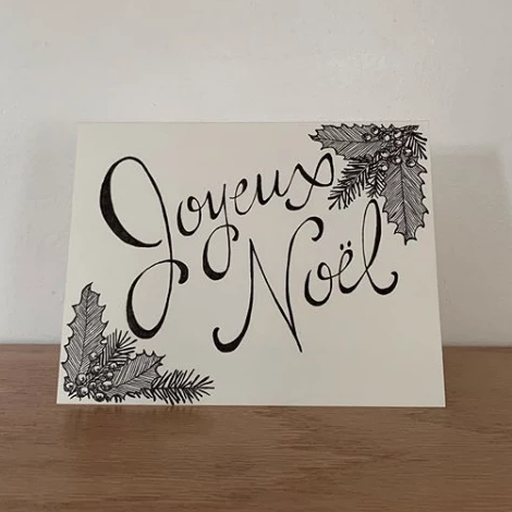 SVC Studios - Greeting Card - Joyeux Noel