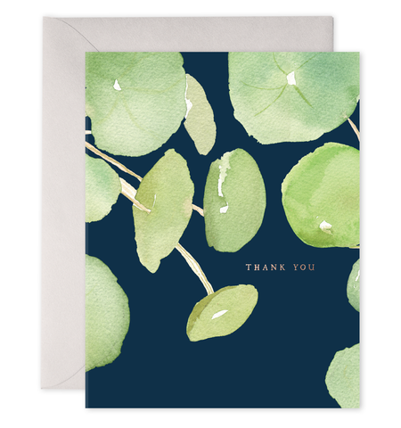E Frances - Greeting Card - Thank You - Pancake Plant