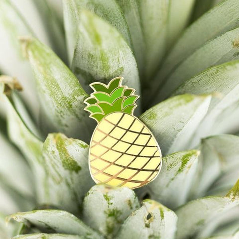 Paper Hearts - Enamel Pin - Little Pineapple