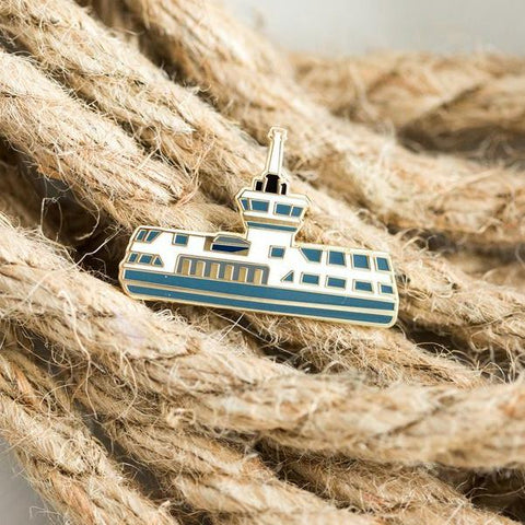 Paper Hearts - Enamel Pin - The Ferry