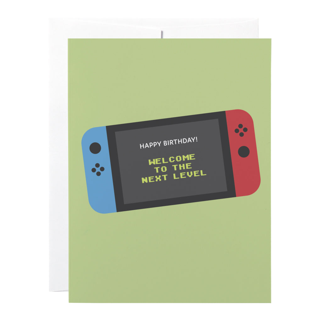 Classy Cards - Greeting Card - Gamer