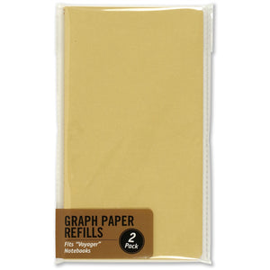 Peter Pauper Press - Voyager Notebook Refills - Graph Paper