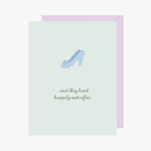 Paper Hearts - Greeting Card - And They Lived Happily Ever After