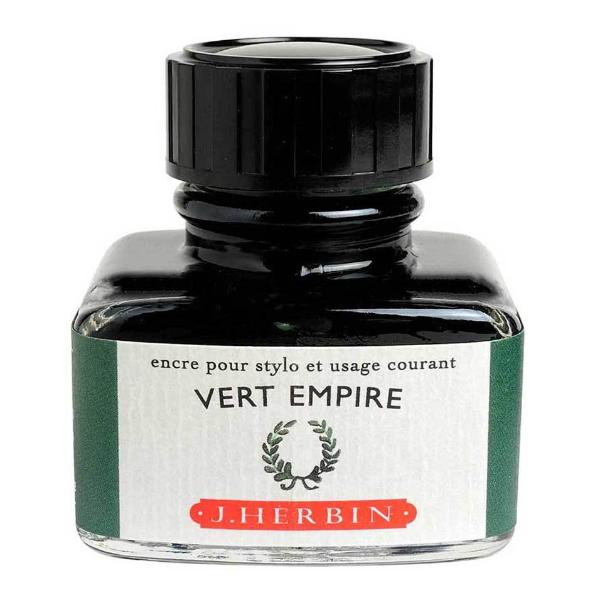 J. Herbin Bottle Ink - 30ml - Vert Empire