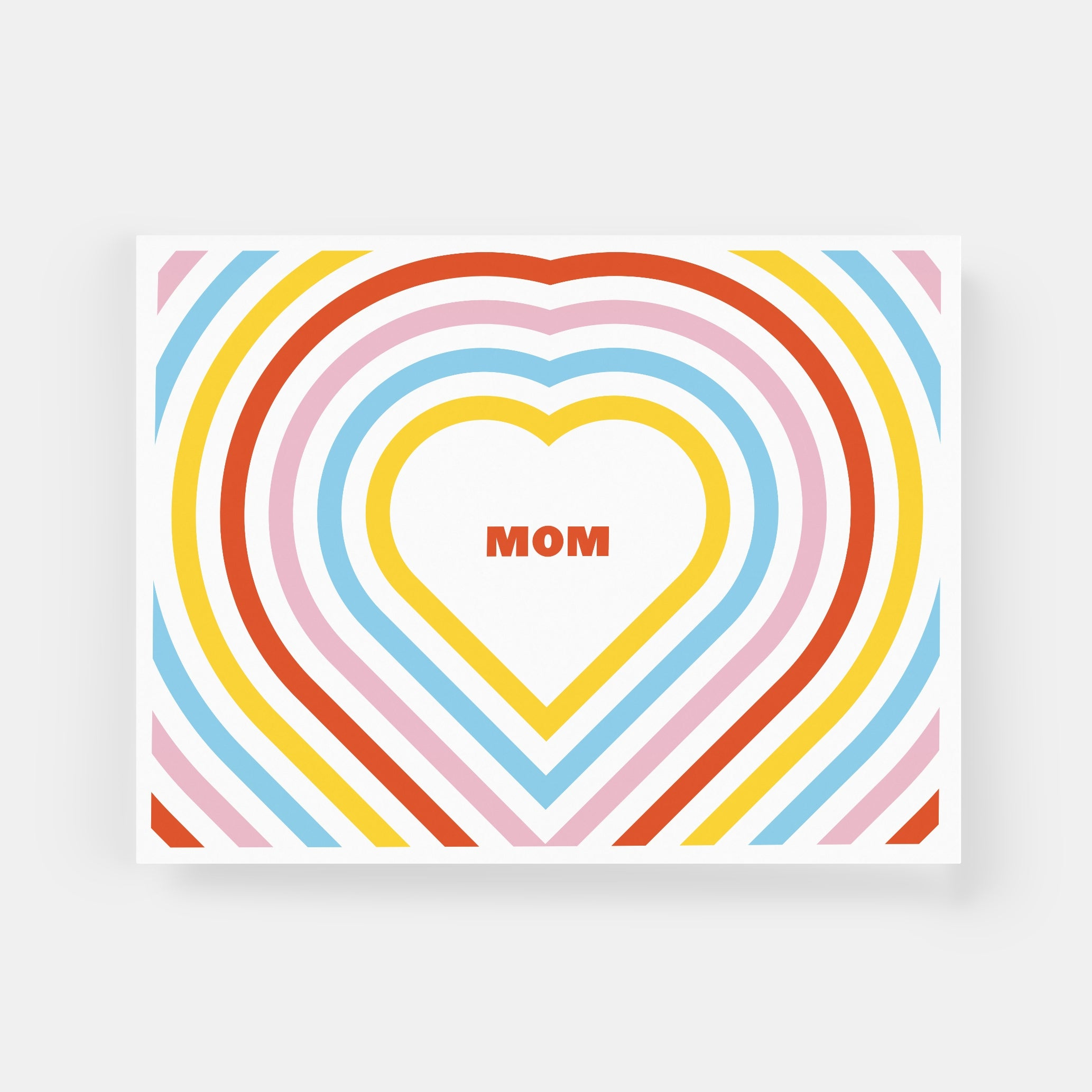 Paper and Stuff - Greeting Card - Mom Heart