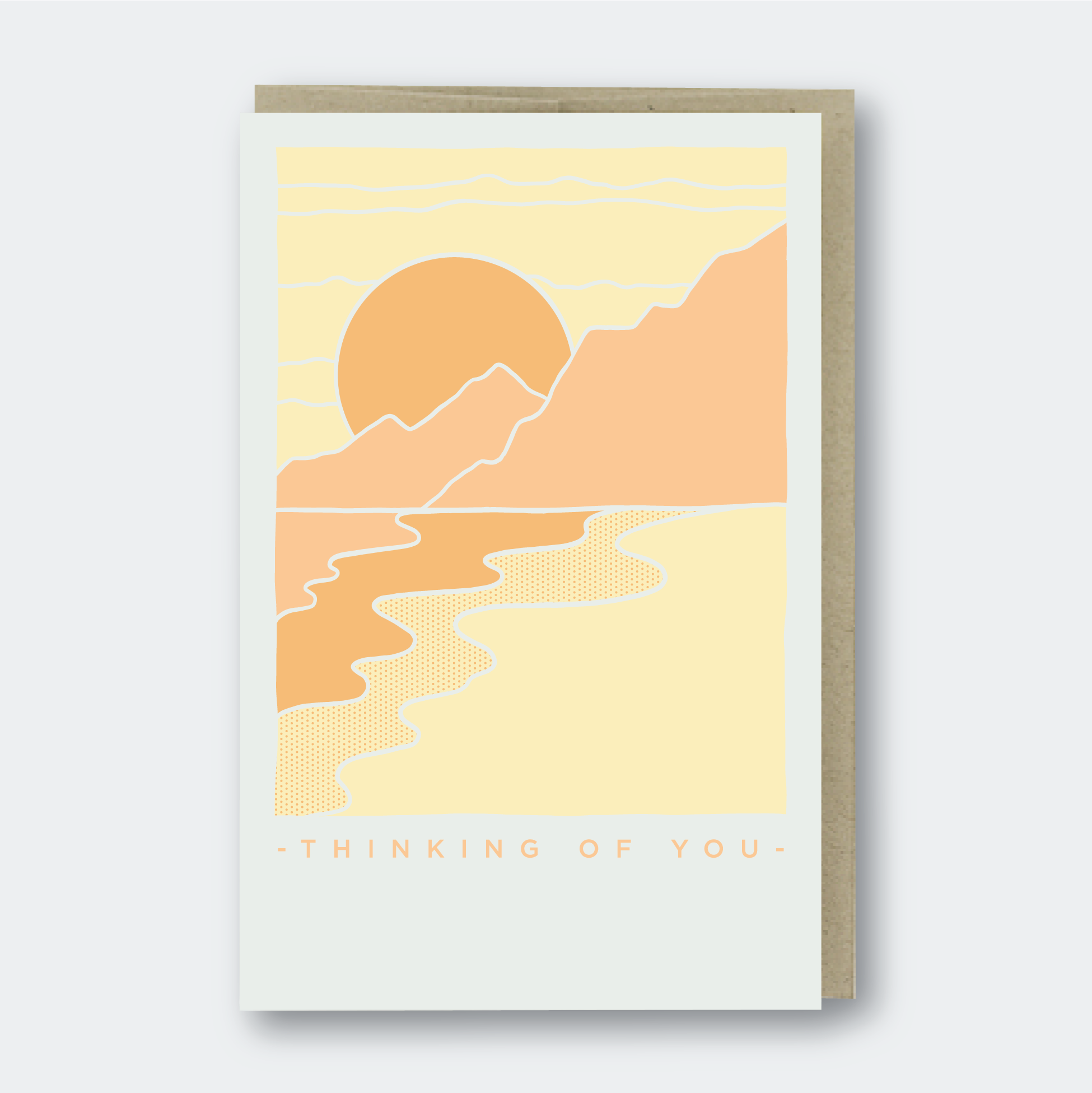 Pike Street Press - Greeting Card - Thinking Of You Scenery